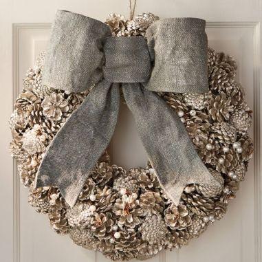 pearl wreath
