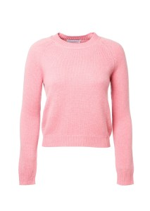 cashmere pink sweater