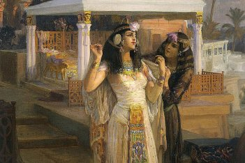 cleopatra and the expensive meal