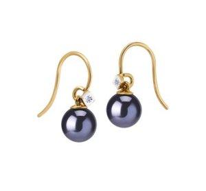 new pearl earrings