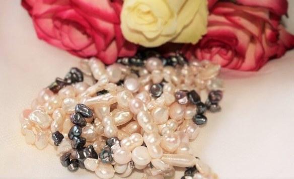 Barocke Perlenketten