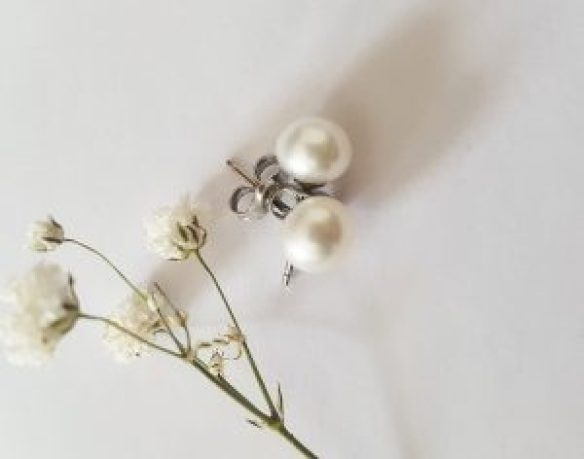 real pearl earrings