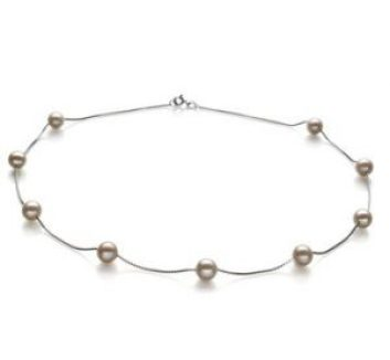 pearl necklace for a young lady
