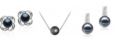 Süßwasser-schwarze Perlen