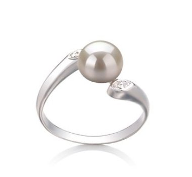 white pearl ring perfect for formal attire