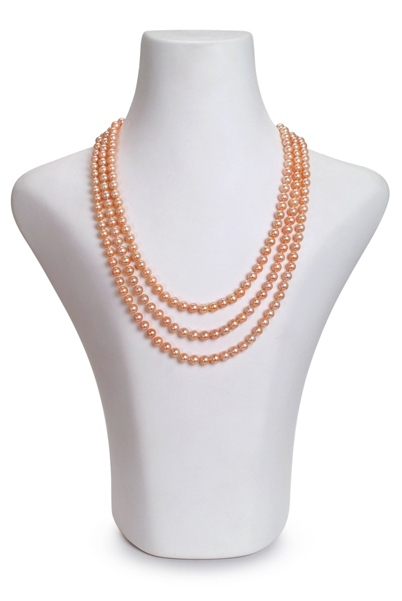8c1db2b1d1af9 The Triple Strand Pearl Necklace: How to Style It - PearlsOnly