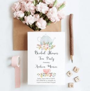 Teeparty-Einladungen
