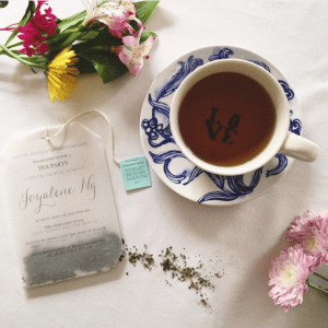 Einladung zur Teeparty