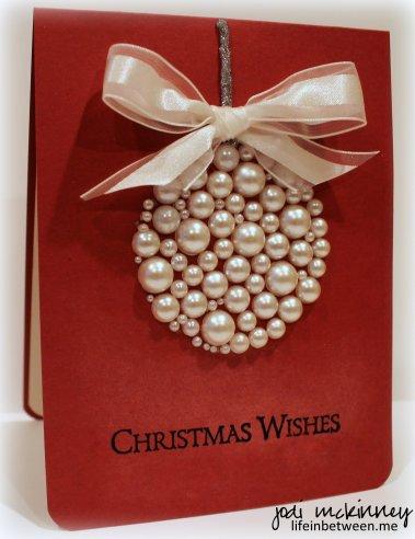 pearl Christmas card