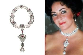 vintage pearl jewelry la peregrina