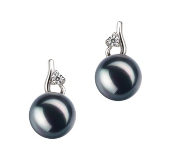 7 stylish black pearl earrings to wear any time pearlsonly