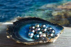 Tastenstiche Perlen
