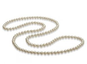 opera long pearl necklace