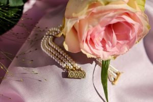 Perlenarmbänder für Brautpaare