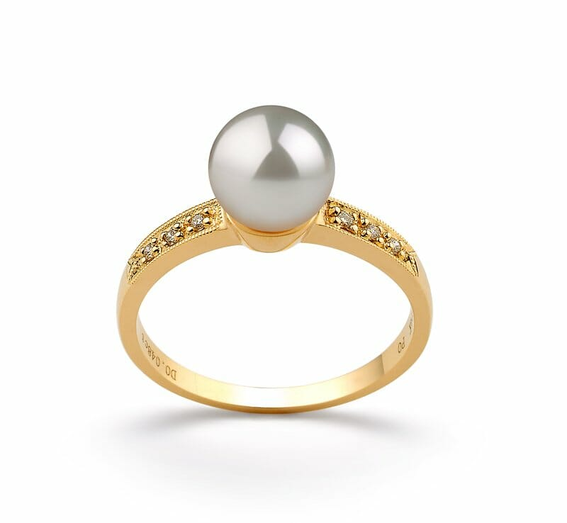 b173fc0a6 As it takes longer for the oysters to produce such pearls for inclusion in  say a white pearl gold rings fewer of them are produced.