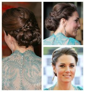 romantic hair updo