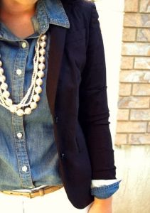 how to incorporate pearls into your outfit