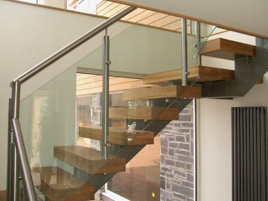 Case Study Blackbrook Oak Metal Glass Staircase | Glass And Oak Banister | Minecraft | Traditional | Stair Case | House | Designer