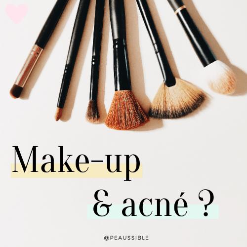 Votre maquillage vous donne-t-il de l'acné ?