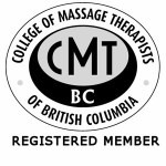 Registered Member of College of Massage Therapists of BC