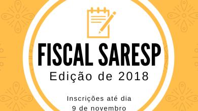 Photo of Inscrição Para Fiscal do SARESP – Edição de 2018