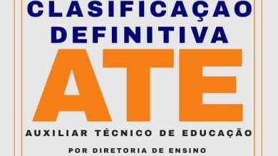 Photo of Classificação Final – Auxiliar Técnico de Educação – ATE – PMSP – 2018