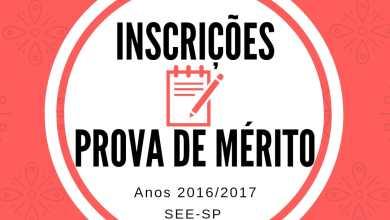 Foto de Inscrição Para Prova Promoção por Mérito – SEE/SP – 2018