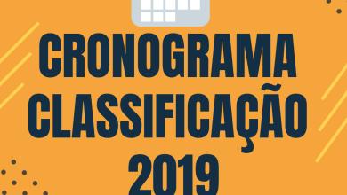 Photo of Cronograma de Divulgação da Classificação de Professores 2019
