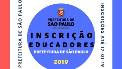 Photo of Inscrição de Educadores na Prefeitura de São Paulo – 2019