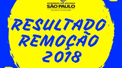 Photo of Resultado da Remoção Professores SP 2018