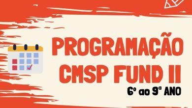 Photo of Programação CMSP 6º ao 9º Ano – 29/04/2020
