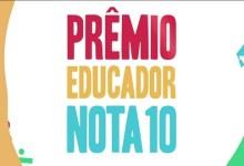 Photo of Prêmio Educador Nota 10 abre inscrições para a Edição 2020