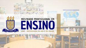 MESTRADO em ensino UENP
