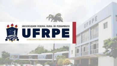 concurso professores UFRPE