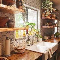22 + Kitchen Ideas Farmhouse Exposed