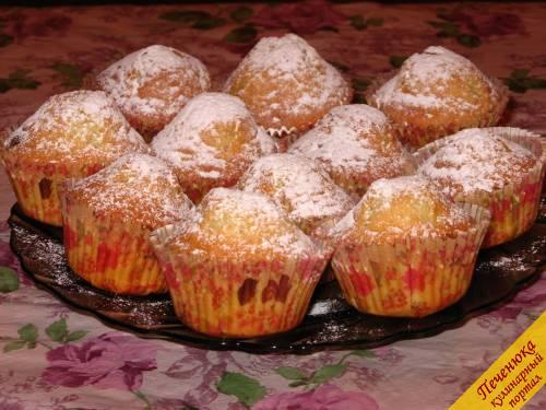 Творожные кексы с изюмом (пошаговый рецепт с фото ...