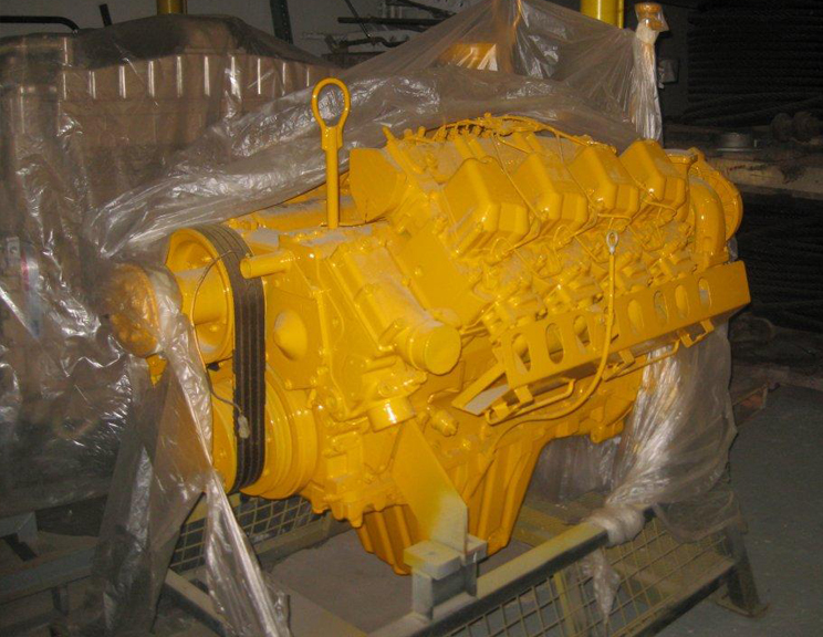 Liebherr D9408 1160 p/n 9512-0067 Rebuilt Engine V8 544 Hp
