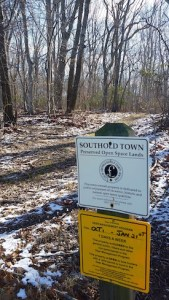 Hunting is underway on some preserved land surrounding Pipes Cove
