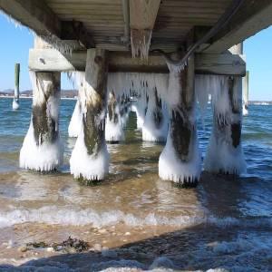 Feb. 14, 2:30 p.m. Crescent Beach, Shelter Island | Jane Kenney photo