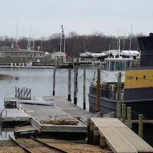 March 25, 2 p.m. Hanff Boatyard, Greenport