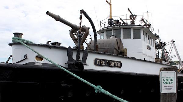 Fire Fighter Returns to Greenport