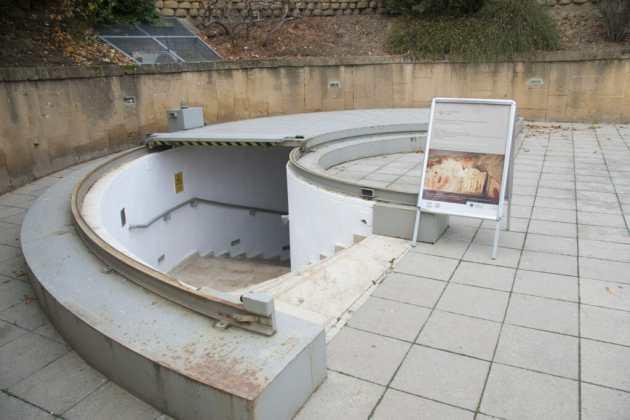 Vhod v zgodnjekrščanski mavzolej