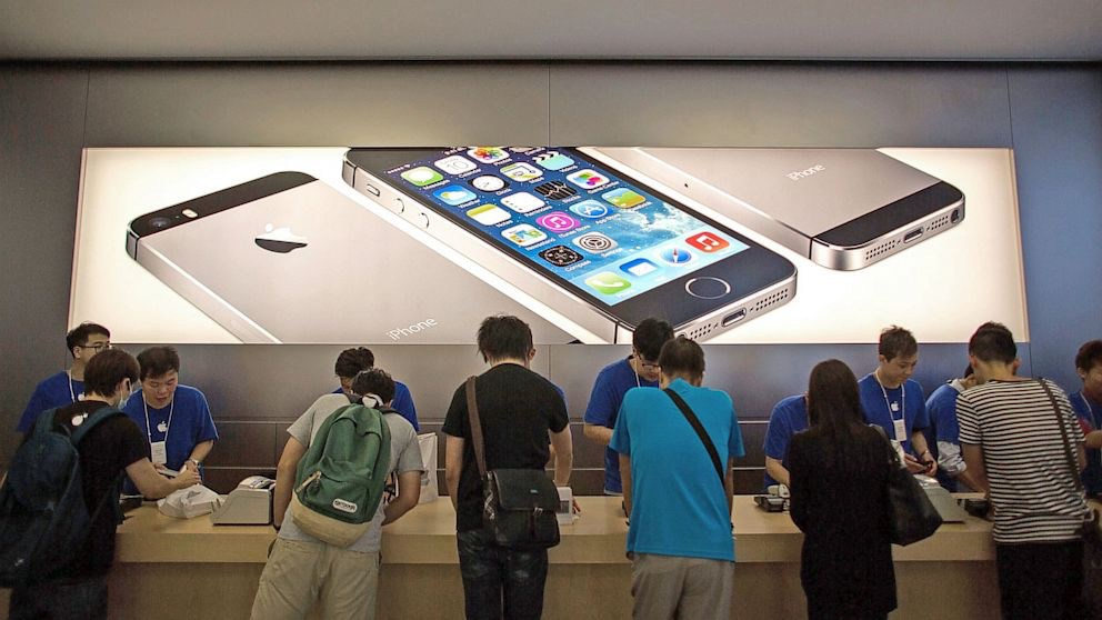 How many iPhones did Apple sell last quarter?