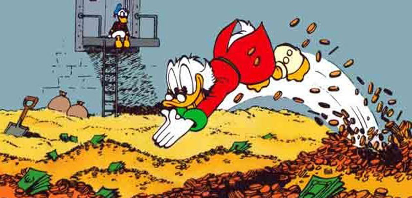 scrooge mcduck most profitable