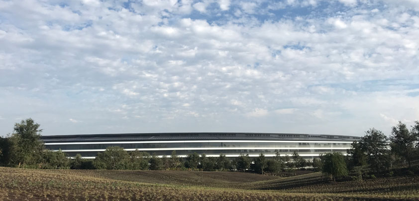 Apple spaceship from Inside Apple Park