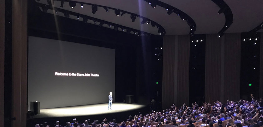 Steve jobs theater view from cheap seats