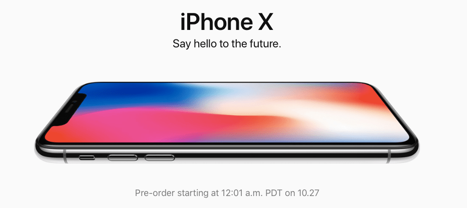 9-12 million iPhone x preorders
