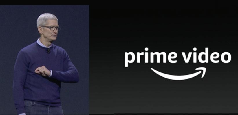 tim cook promises amazon prime video