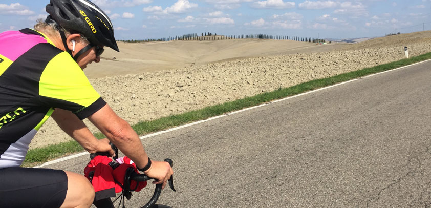 tuscany cycling ped