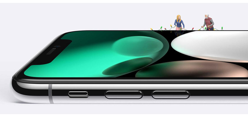 iPhone Christmas activations flurry
